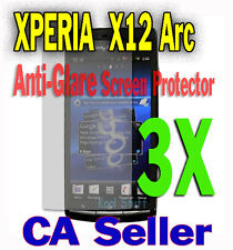 3X Anti-Glare Screen Protector Sony Ericsson XPERIA X12 Arc S