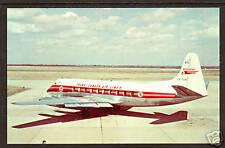 Canada, TCA Viscount Aircraft color PPC, LV-401, mint