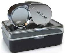 New Jewelers Loupe Eye Glass Lens Loop Magnifier 30x21 Scrap Gold Silver Diamond