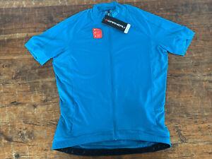 Louis Garneau Mens Lemmon 2 Cycling Jersey Blue Size L NWT