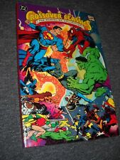 Marvel/Dc Collection Crossover Classics Tpb 2nd print 1991 Perez cover Nice!