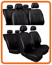 Car seat covers fit Toyota Yaris - full set Leatherette black