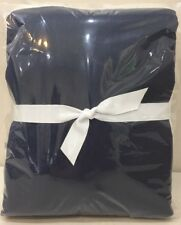 NEW Pottery Barn Kids Navy Blue COLOR POP BLOCK BLACKOUT Curtain Panel 44 x 84""