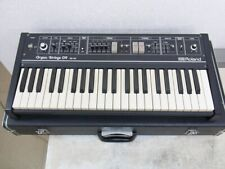 Used RS-09 Roland Organ Strings 09 Synthesizer 44 keys with Case 26.6x4x12 in