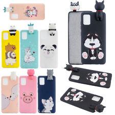 Cute Cartoon 3D Unicorn TPU Phone Case For Samsung A10 A91 A71 5G A01 M30 M10