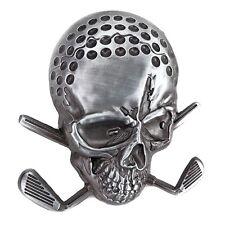 The OB Skull Golf Belt Buckle