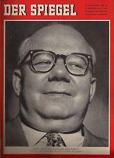 "Der Spiegel  5. September 1956 Nr. 36 ""CDU- Bundesschatzmeister Bach"""