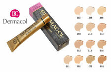 Offers ON ALL BLACK AND WHITE  DERMACOL HIGH COVERING MAKE UP FOUNDATION UK