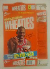 Wheaties Cereal Box, 1991 Michael Jordan Large size box (18 oz)  - Flattened