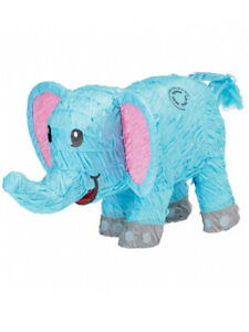 Blue Elephant Pinata Baby Shower Boy Mexican Party Game Accessory Decoration New