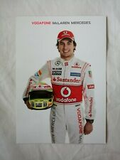 More details for 2013 mclaren mercedes sergio perez drivers card new condition