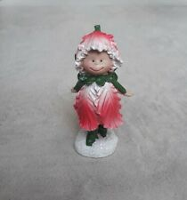 Rustic Pink Flower Fairy for Fairy / Elf Garden by Enchanted Corner New With Tag