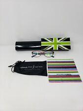 William Morris London Women's Glasses Black Sz M 52 135mm 6025-02 +Cloth Box Bag
