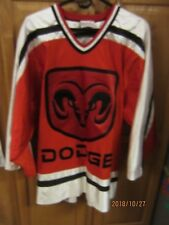 DODGE PROMOTIONAL JERSEY PULLOVER MEN'S Red And White