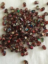 Superuno Beads X 100:Crystal Magic Red Brown