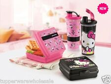 New Tupperware Hello Kitty Lunch 4pc Set