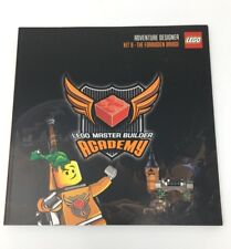 LEGO Master Builder Academy Kit 8 The Forbidden Bridge Manual (Book Only)