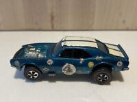 Heavy Chevy Aqua 1970 Redline Hot Wheels Mattel Vintage Redline RL