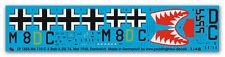 Peddinghaus 1/48 1855 Me 110 C-3 Bar II ZG 76 May 1940, France