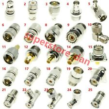 UHF TO BNC N SMA UHF SO239 PL259 male female RF Connector Adapter Test Converter