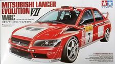 TAMIYA MITSUBISHI LANCER EVOLUTION VII WRC - KIT MONTAGGIO 1/24 - ITEM 24257