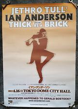 Jethro Tull Tour manifesto, poster Giappone Tokyo Dome City Hall 2013