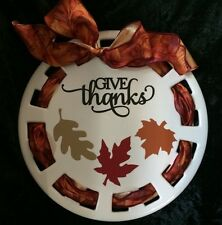 Fall Vinyl / Stickers • Give Thanks And Leaves• Decoration • Can Customize