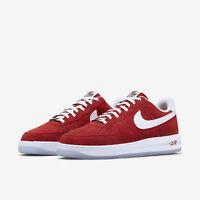Nike Lunar Force 1 '14 Herren Sneaker 654256 601 rot / weiß NEU & OVP
