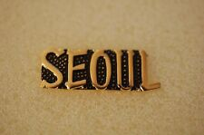 US USA Seoul Military Hat Lapel Pin