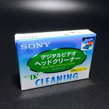 SONY Mini DV Digital Video Head Cleaner Tape Cleaning Cassette Original New