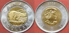Brilliant Uncirculated 2009 Canada 2 Dollars From Mint's Roll