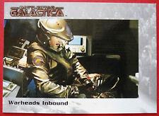 BATTLESTAR GALACTICA - Premiere Edition - Card #27 - Warheads Inbound