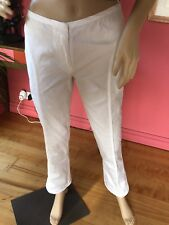 C'n'C (Costume National) Size 40 IT White Trousers