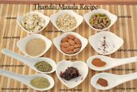 Ayurveda Milk Spice Masala Powder Indian Thandai Powder Milk Flavor Enhancer