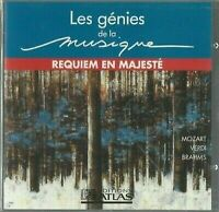 CD LES GÉNIES DE LA MUSIQUE REQUIEM EN MAJESTÉ 2651