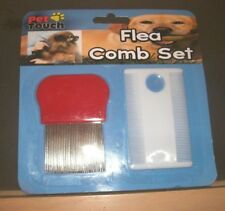 DOG CAT FLEA COMB SET