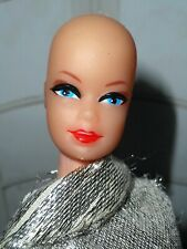 Vintage Barbie VHTF CLONE STACEY WIG WARDROBE HEAD 1968 PRINCESS GRACE BODY LOT
