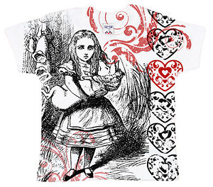 Dirty Fingers Baby T-Shirt All Over Print Alice in Wonderland Pig