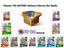 Pokemon TCG MYSTERY MYTHICAL COLLECTION Box Bundle, 2 Random Mythical Pin Boxes