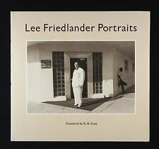 Lee Friedlander Portraits New & Signed Photography Book