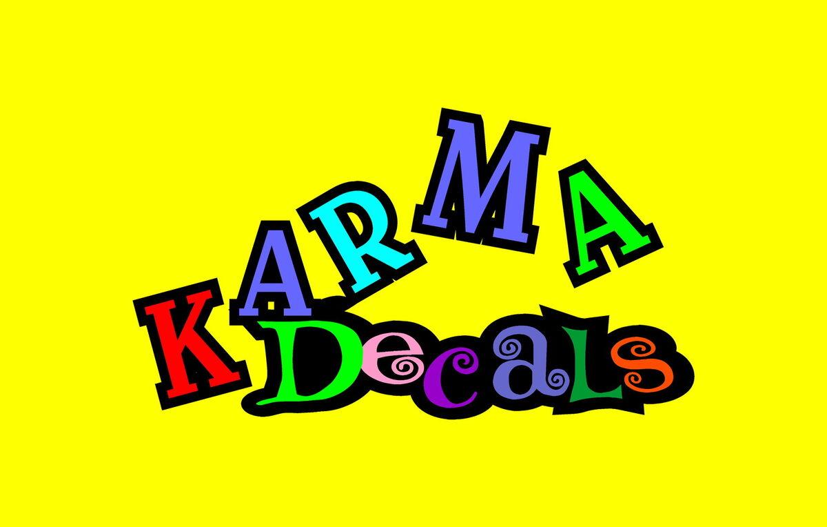 Karma Decals