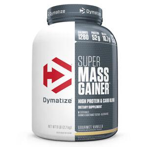 Dymatize Nutrition 6lb Super Mass Gainer Protein Powder - Gourmet Vanilla