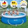 Bestway Schwimmbecken Pool Gartenpool Quick Up Pool 305 x 76 cm Pool Filterpumpe