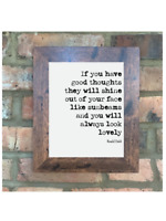 A4 Roald Dahl Quote Print Unframed The Twits Wall Art Minimalist