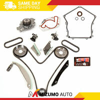 Timing Chain Kit Timing Cover Gasket Water Pump Fit 2008 Dodge Chrysler 300 2.7L