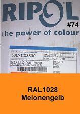 capa del polvo 25 kg polvo para recubrimiento ral1028 NARANJA AMARILLO