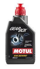 1lt Motul Gearbox 80W90 Olio Cambio Differenziale 100% Minerale Rinforzato MOS2