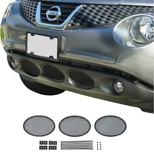 CCG BLACK DIAMOND MESH LOWER GRILL INSERTS FOR 2011 2012 2013 2014 NISSAN JUKE
