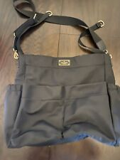 Kate Spade Adamson Blake Avenue Baby Bag Diaper Bag Black Tote Retail $299.99