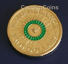 "2014 $2 Remembrance Day Two dollar Australian Coin "" C "" Canberra Mintmark"